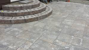 How To Install Pavers For A Patio How To Install Paver Patio Steps Home Design Ideas