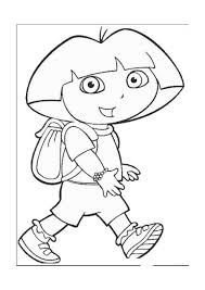 dora explorer coloring pages 21 coloring pages kids