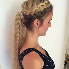 hair braided into pony tail 15 adorable french braid ponytails for long hair popular haircuts
