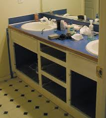 Build Your Own Bathroom Vanity Cabinet - how to build a bathroom vanity top home vanity decoration