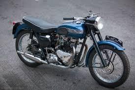 triumph thunderbird 1955 restored classic motorcycles at bikes