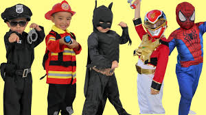 kids costume runway show power rangers superheroes disney marvel