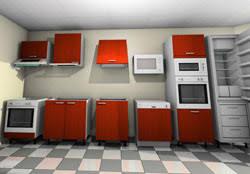 appareil menager cuisine dimension des meubles cuisine pour appareils électroménagers