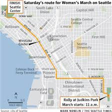 Seattle Districts Map by What You Need To Know About Inauguration Day Protests Events In