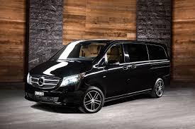luxury minivan mercedes benz v class long minivan u2014 gstaad limousine service