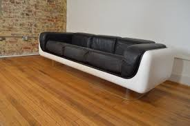 Modern Sofa Leather by Steelcase Space Age Modern Sofa Galaxiemodern