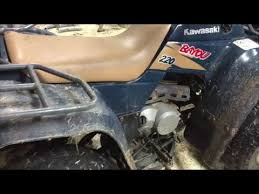 how to change oil u0026 filter in a 4 wheeler atv youtube