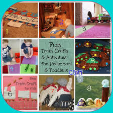 24 train crafts activities and diy projects