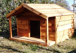 custom cedar dog house with porch custom ac heated insulated dog
