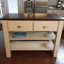 How To Build A Kitchen Island Table by 11 Free Kitchen Island Plans For You To Diy