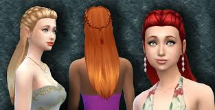 custom hair for sims 4 the sims 4 custom content absolution hair sims community