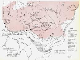 Table Rock Lake Map Anishinaabe Pictograph Sites In Ontario Ramblin U0027 Boy