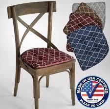 Non Slip Chair Pads Nonslip Trellis Chair Pad