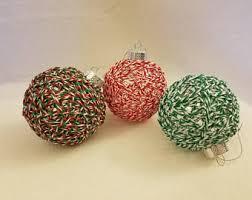 yarn ornaments etsy