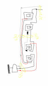 ceiling fan wall switch wiring diagram with how to wire a within