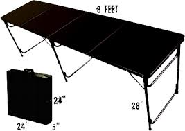 Beer Pong Table Official Sizes Dimensions Party Pong