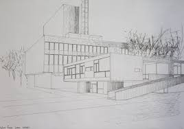 modern architectural drawings of buildings with home architecture