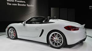 porsche boxster 0 to 60 2016 porsche boxster spyder marks the of something great w