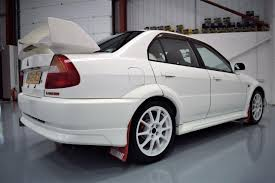 white mitsubishi lancer used 2000 mitsubishi lancer evo 6 tommi makinen edition tme for
