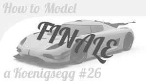 koenigsegg logo black and white 3d car modeling tutorial finale koenigsegg one 1 wheels youtube