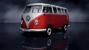 art volkswagen volkswagen transporter type 2 t1 samba bus first