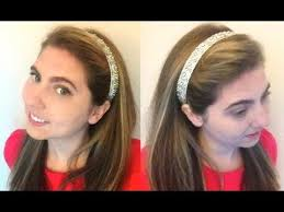 the hairband wrap around hairband tutorial how to keep it on your