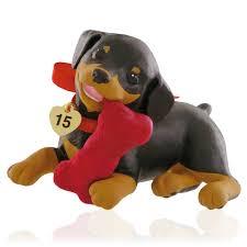 2015 puppy love hallmark keepsake ornament hooked on hallmark