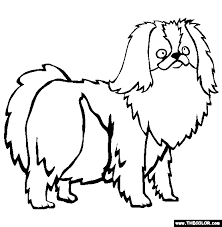 dogs coloring pages 1