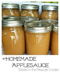 how to make homemade applesauce in the pressure cooker