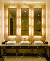 bathroom cabinets design elegant gold mirror frames over single