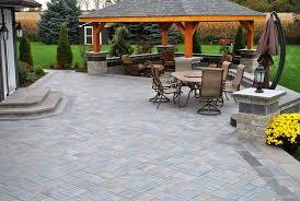 Large Pavers For Patio Paver Patio Be Equipped Backyard Patio Be Equipped Outdoor