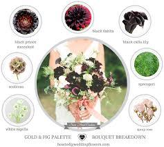 gold blush u0026 fig wedding palette colors lush and romantic weddings