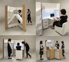 space saving furniture compact kitchen guest room and office
