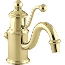 Polished Brass Bathroom Fixtures by Kohler K 139 Cp Antique Polished Chrome One Handle Bathroom