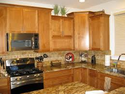 Shaker Maple Kitchen Cabinets American Tile U0026 Stone Completed Projects