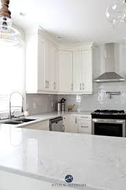 white kitchen cabinets with backsplash white kitchen cabinets 3 palettes to create a balanced and