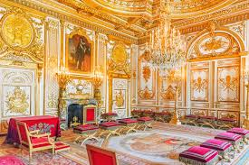 palace interiors fontainebleau palace interiors the throne room chateau was on