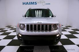 jeep renegade used 2016 used jeep renegade 4wd 4dr limited at haims motors serving