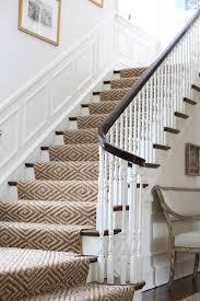 diamond jute rug stairway runner simplified bee