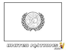 flags of the united nations an and kid coloring book pdf