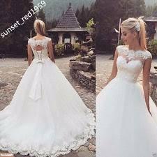 robe de mari e de princesse de luxe robes de mariée ebay