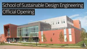of sustainable design engineering official opening youtube