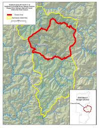 Oregon Fire Map by Northwest Interagency Coordination Center 8 18 2017 Chetco Bar Update