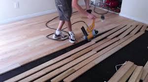 Laminate Flooring Around Door Frames Good Business In Installing Wood Floor Floor Over Uneven Subfloor