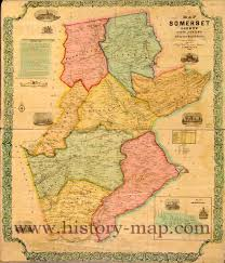 County Map Of Nj County New Jersey