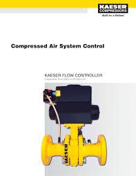 kaeser flow controller kfc compressed air system control
