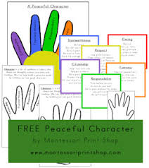 20 free character education printables