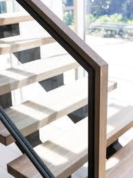 2 Step Stair Stringer by Stair Modern Design Architecture Steel Stringers