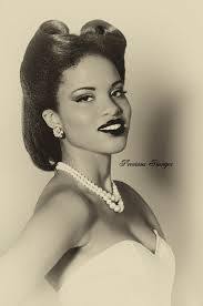 cute pin up hairstyles for black women 17 best images about pin up hair on pinterest pin up 1940s and