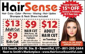 senior hair cut discounts hair sense coupon by indoormedia